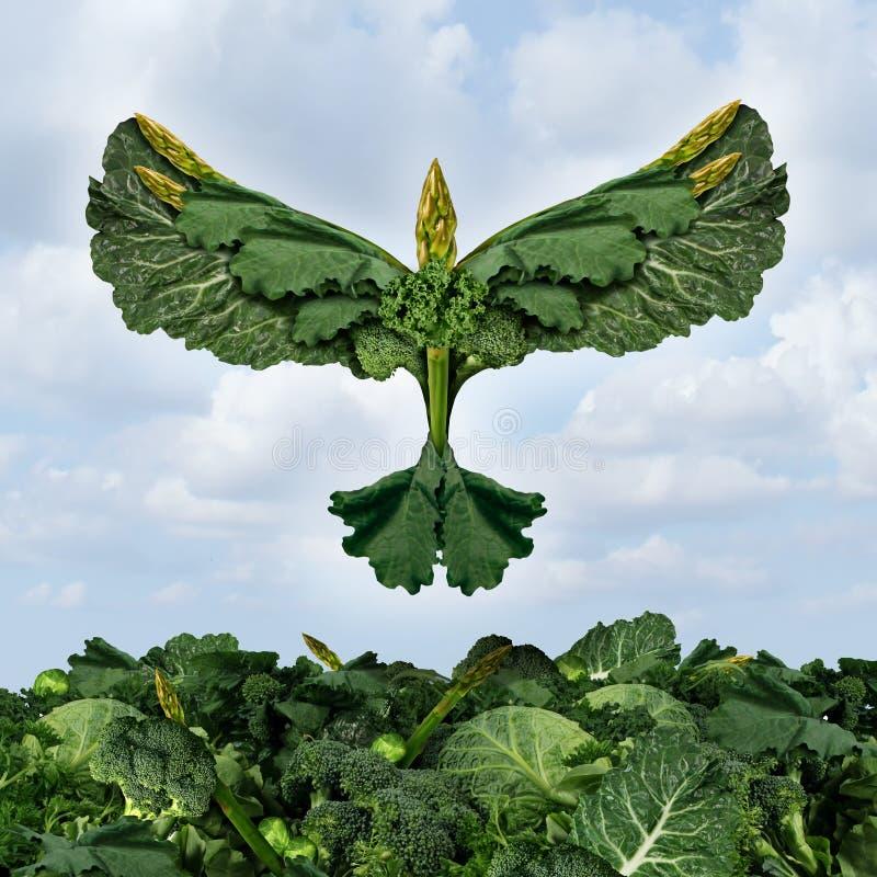 Biokost-Freiheit lizenzfreie abbildung