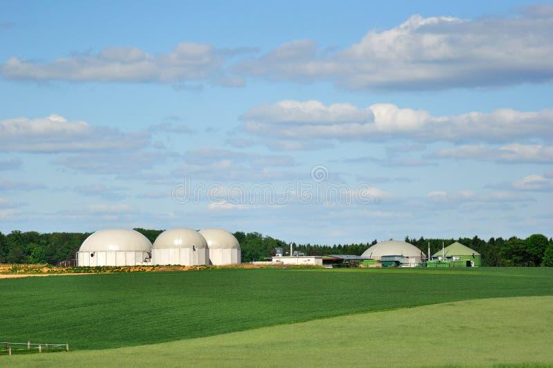 Biokraftstoffanlage. lizenzfreies stockbild