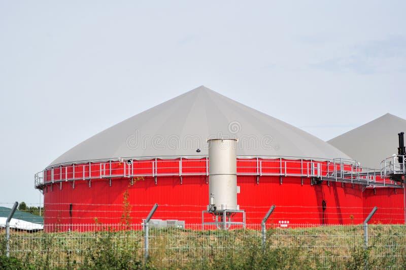 Biokraftstofftank. stockbild