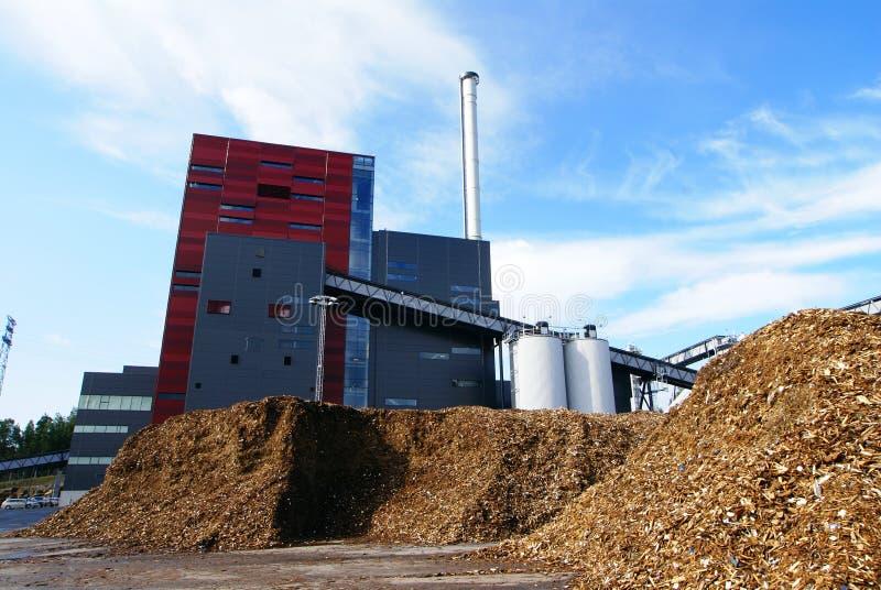 BiokraftstoffTriebwerkanlage lizenzfreies stockfoto