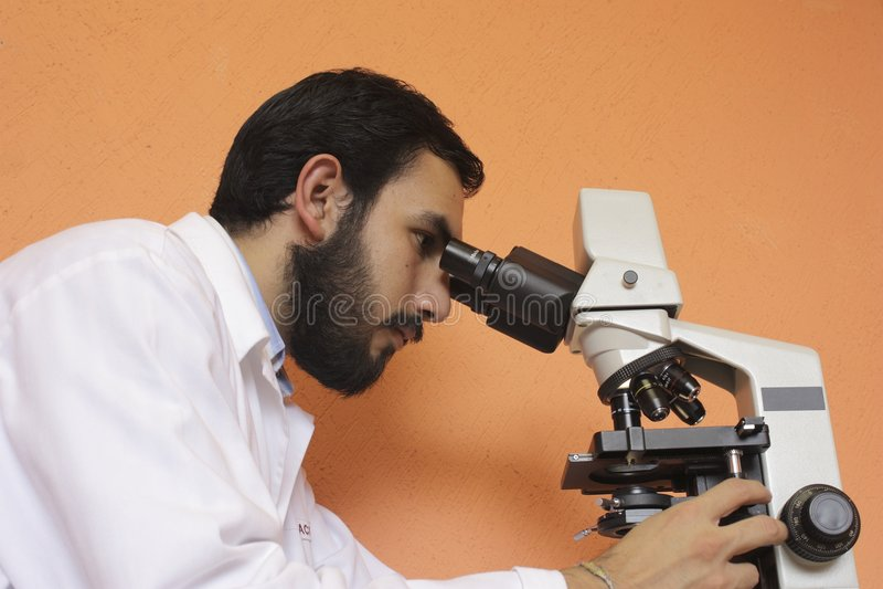 Biologe lizenzfreie stockfotos