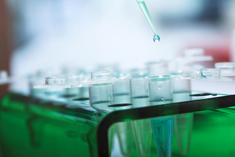 Biologia molecolare immagini stock
