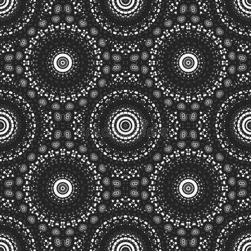 Biological like circular. Seamless pattern, abstract colorful background, texture. seamless pattern, abstract colorful background, texture royalty free illustration