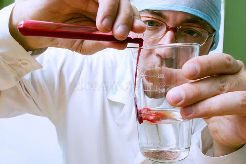 Biological test royalty free stock images