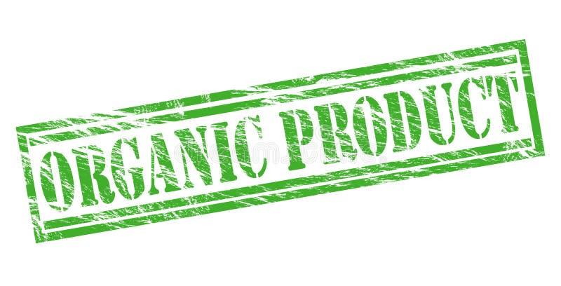 Biologisch product groene zegel royalty-vrije illustratie