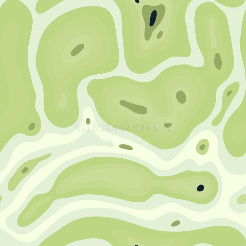 Biologisk sömlös modell abstrakt bakgrund vektor illustrationer
