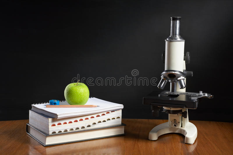 Biology Class Concept Royalty Free Stock Photography