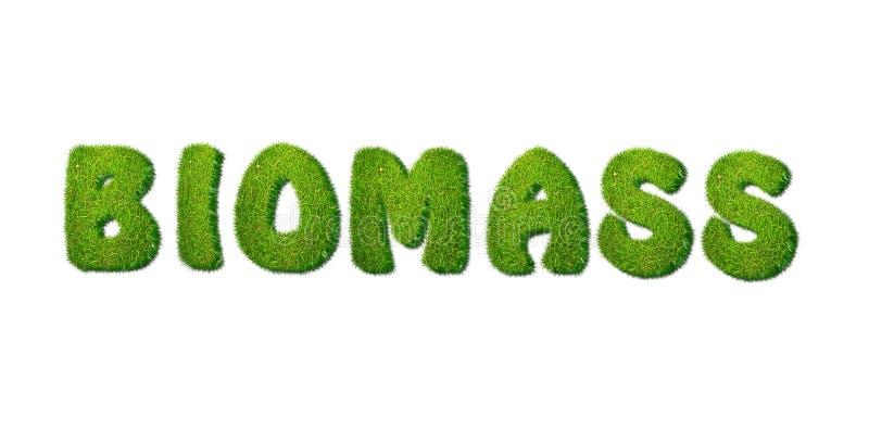 Biomasa. ilustración del vector