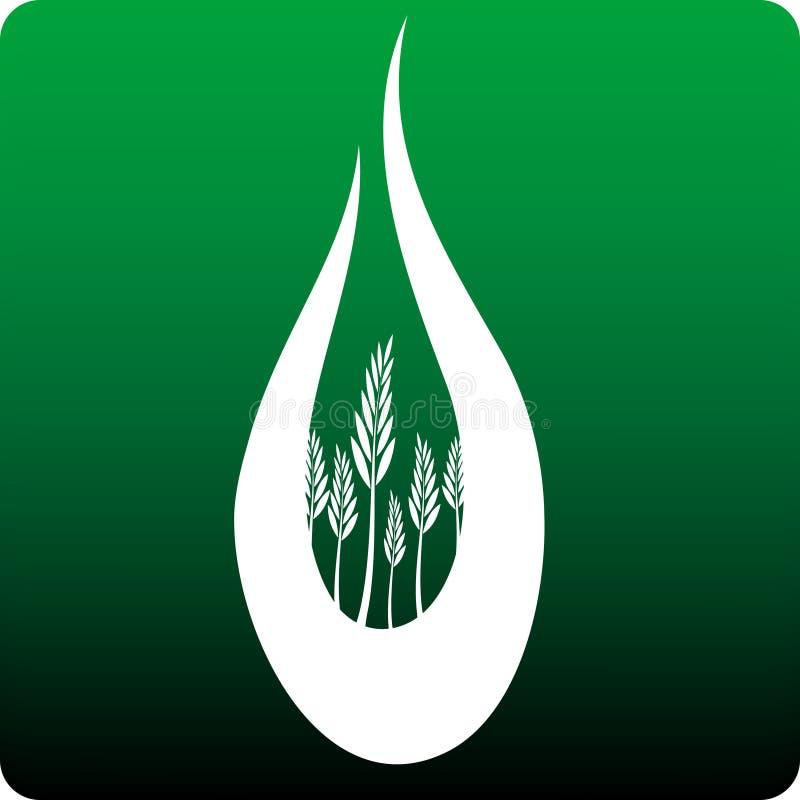 Biomasa ilustración del vector