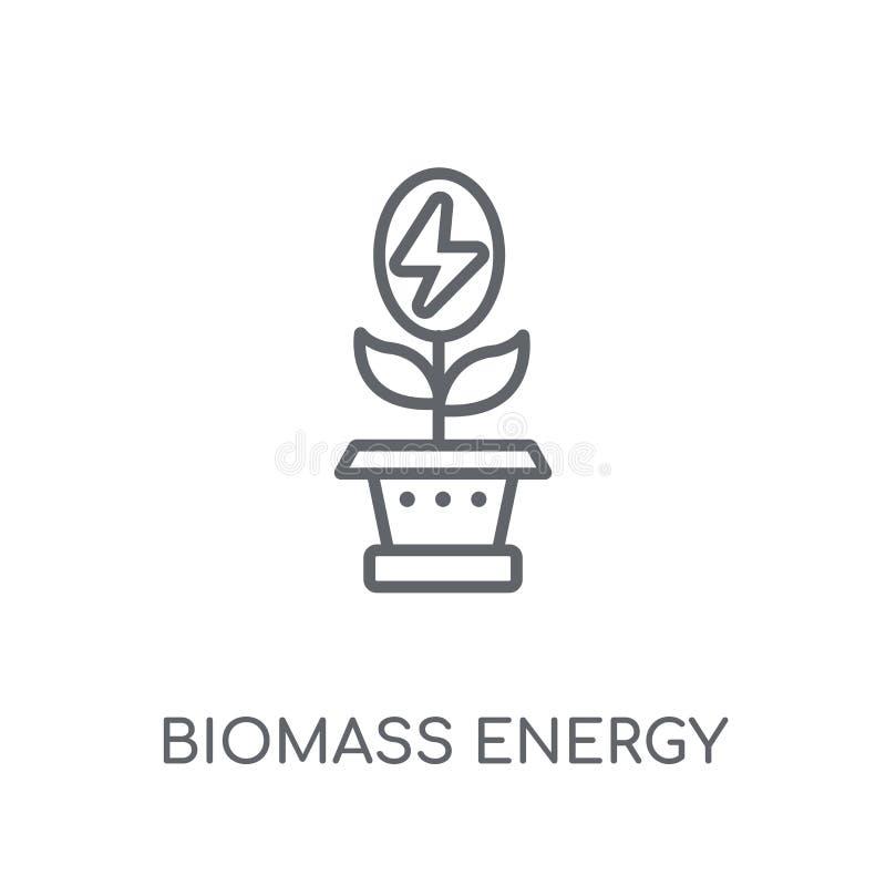 Biomass Energy Icon  Trendy Biomass Energy Logo Concept On