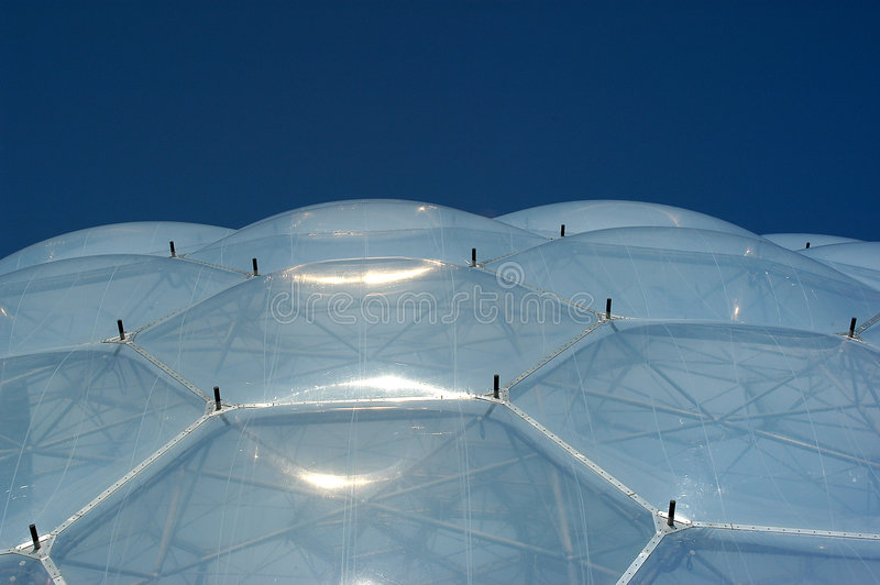 Biome Roof stock photos