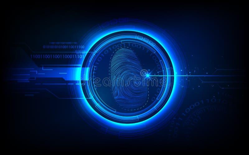 Biometrics Technology Royalty Free Stock Photo