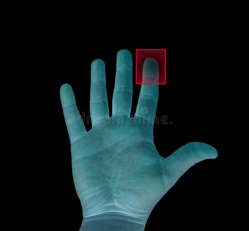 Biometrisch stock foto