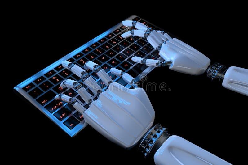 Bioniska h vektor illustrationer