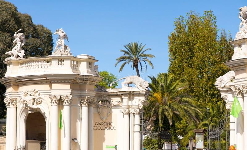 Bioparco,从罗马,意大利的动物园 库存照片
