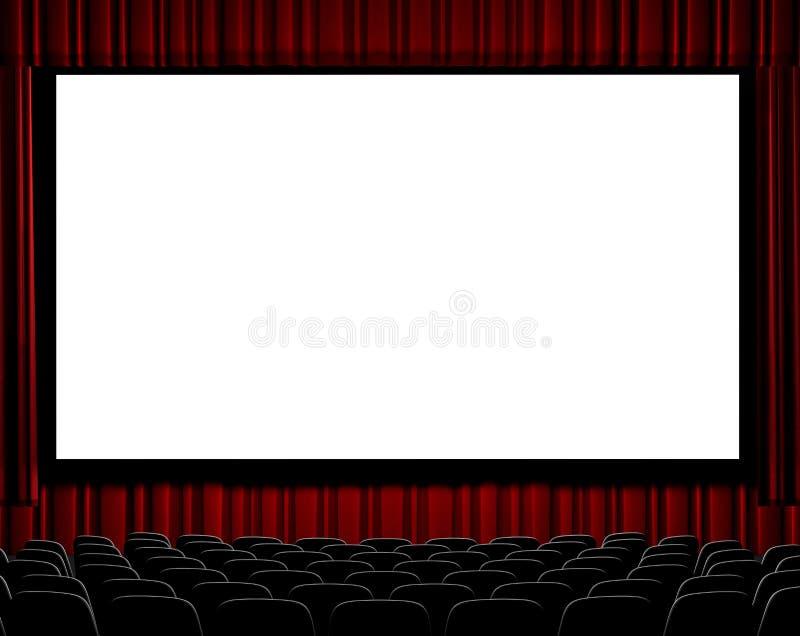 Bioscoop stock illustratie