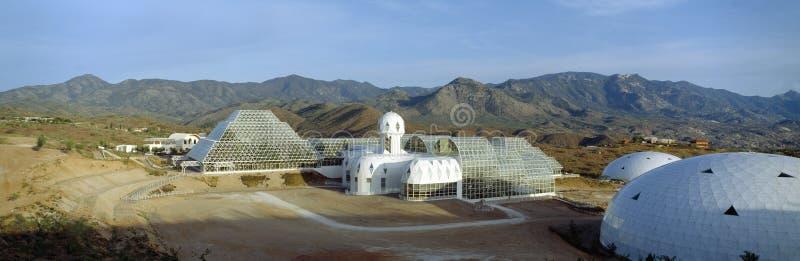 Biosfera 2 fotografia stock