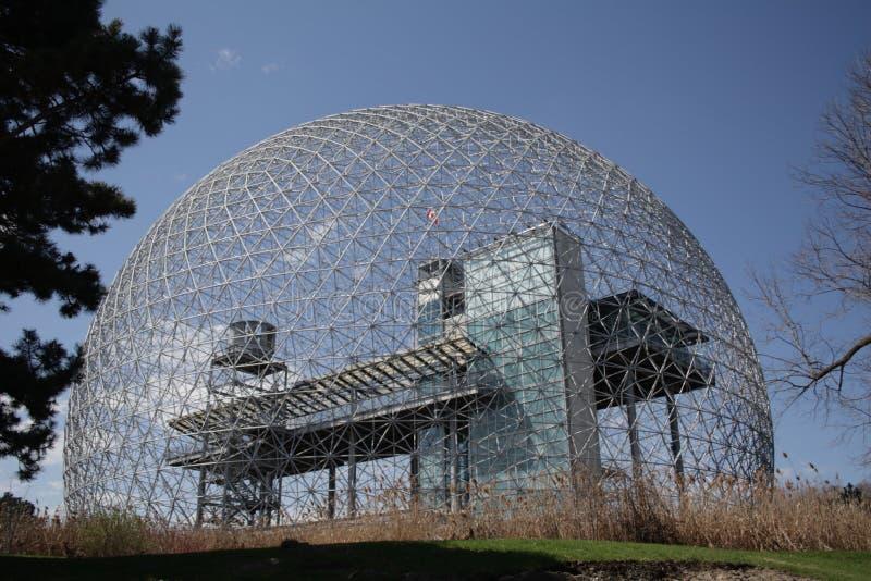 Biosfera de Monteal fotos de stock royalty free