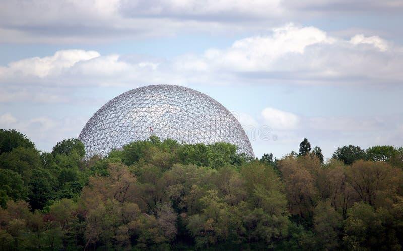 Biosfera de Montreal fotografía de archivo libre de regalías