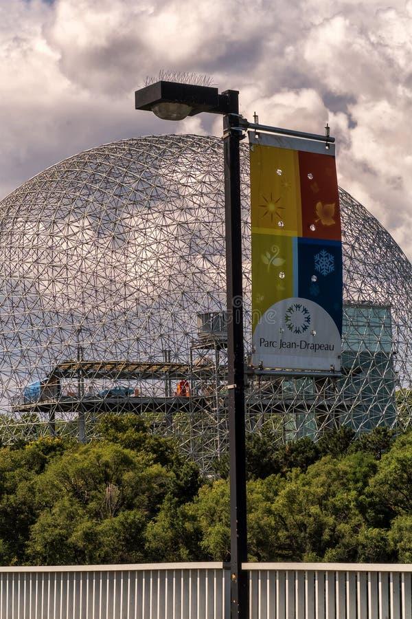 Biosfera, museo dell'ambiente fotografia stock