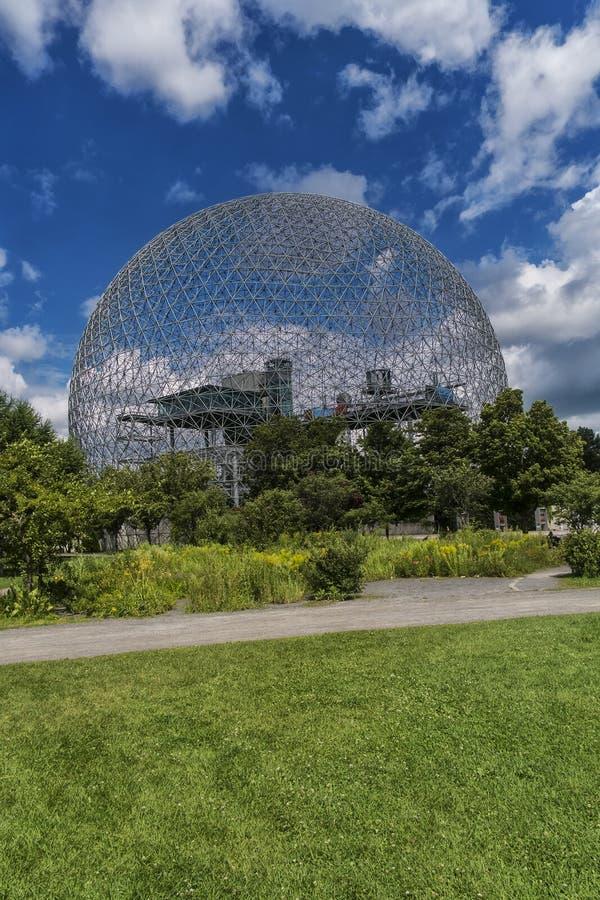 Biosfera, museo dell'ambiente immagine stock