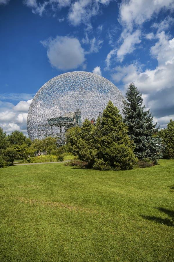 Biosfera, museo dell'ambiente fotografie stock libere da diritti