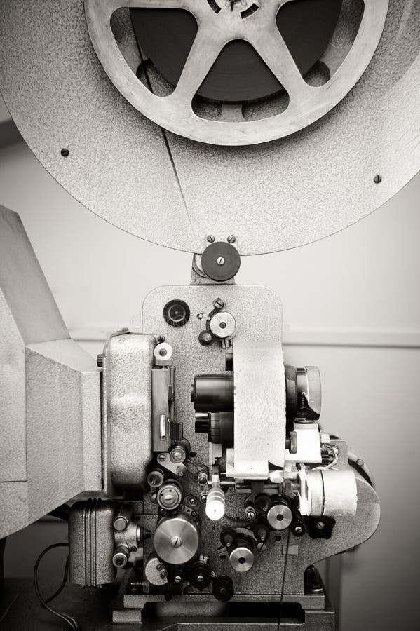 Bioskoopprojector voor 16 mm-film, oude wijnoogst royalty-vrije stock foto's