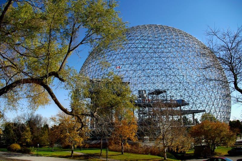 Biosphäre Montreal stockbild