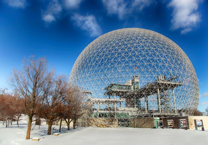 Biosphäre von Montreal lizenzfreie stockbilder