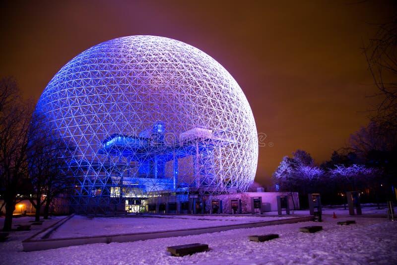 Biosphäre von Montreal lizenzfreies stockfoto