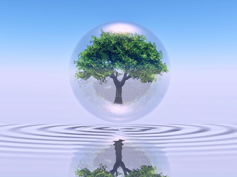 biosphère illustration stock
