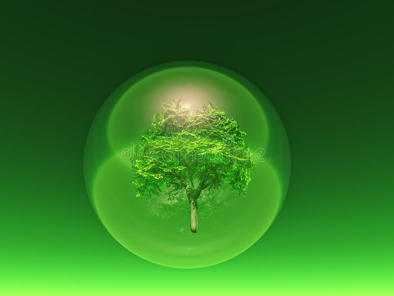 biosphère illustration libre de droits