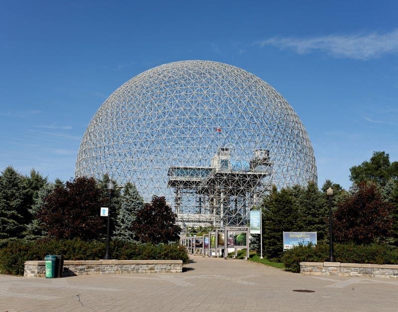 Biosphère de Montréal images stock