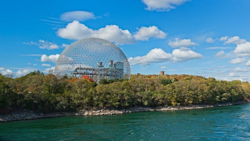 Biosphère de Montréal photographie stock