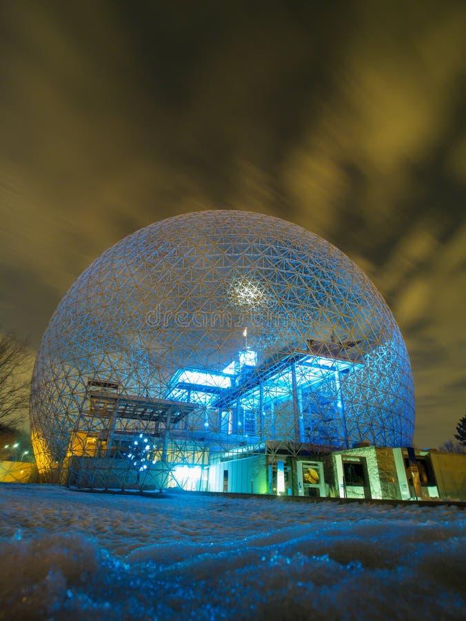 Biosphère de Montréal images libres de droits