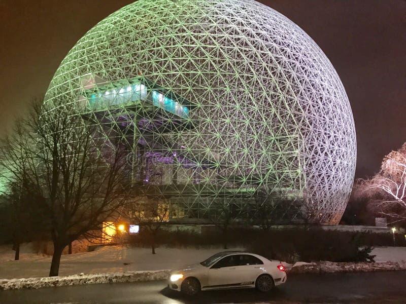 Biosphère de Montréal photo stock