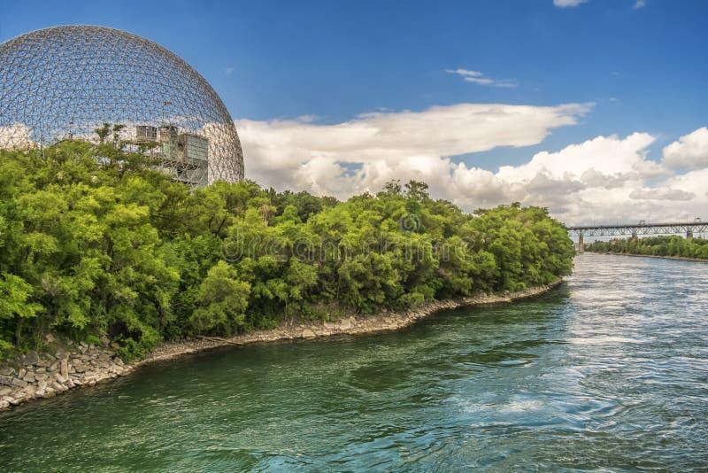 Biosphère, musée d'environnement photo libre de droits