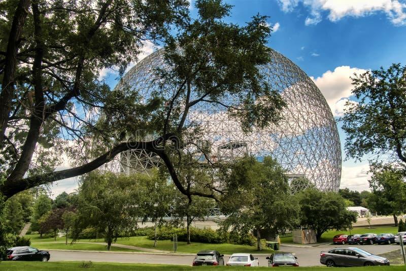 Biosphere, Environment Museum royalty free stock photo