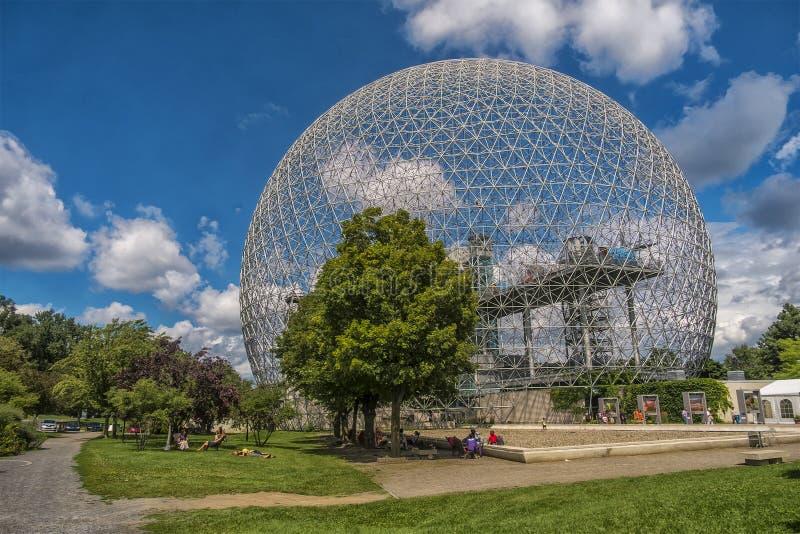 Biosphere, Environment Museum royalty free stock image