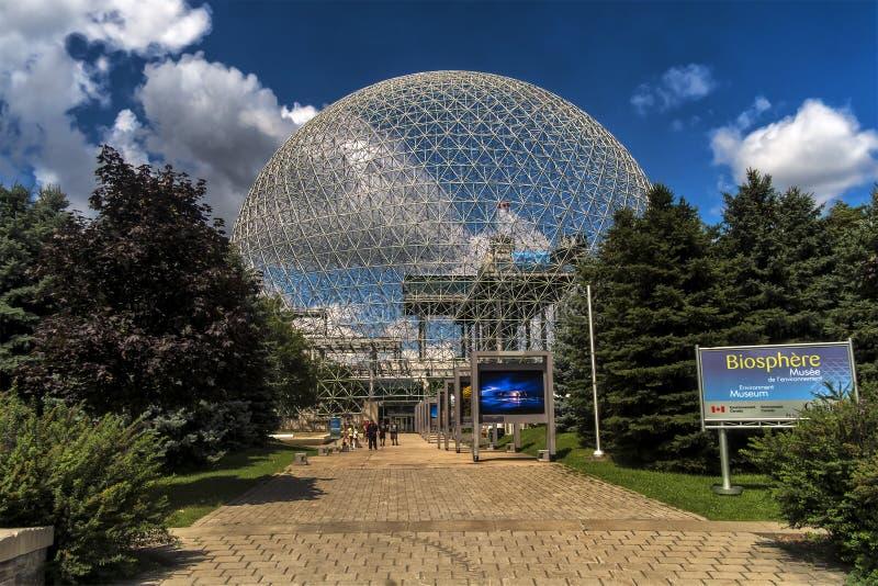 Biosphere, Environment Museum stock images