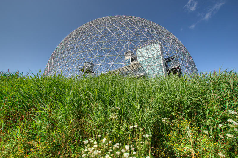 Download Biosphere in Montreal stock photo. Image of jean, museum - 26040510
