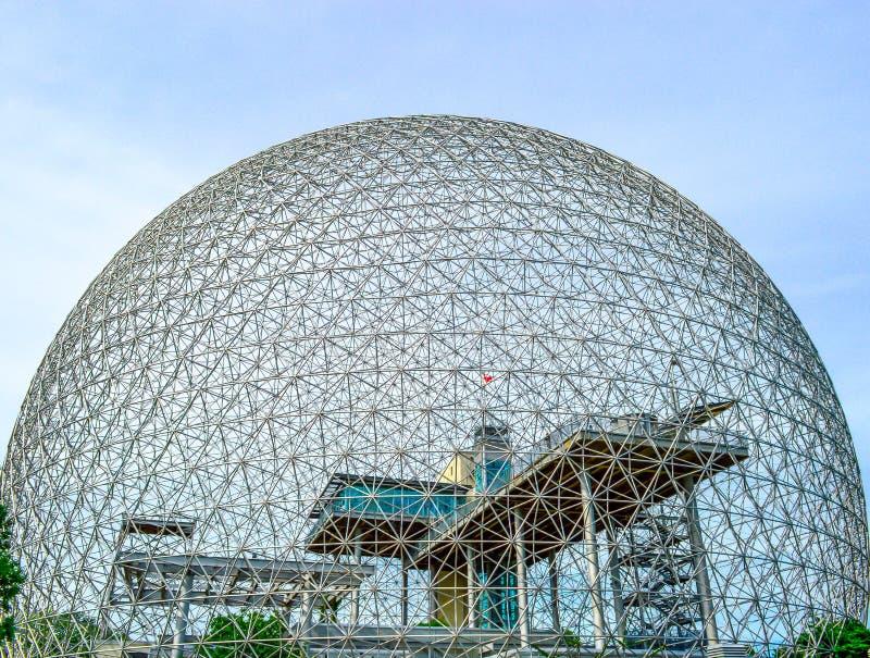 Biosphre Montreal immagini stock libere da diritti