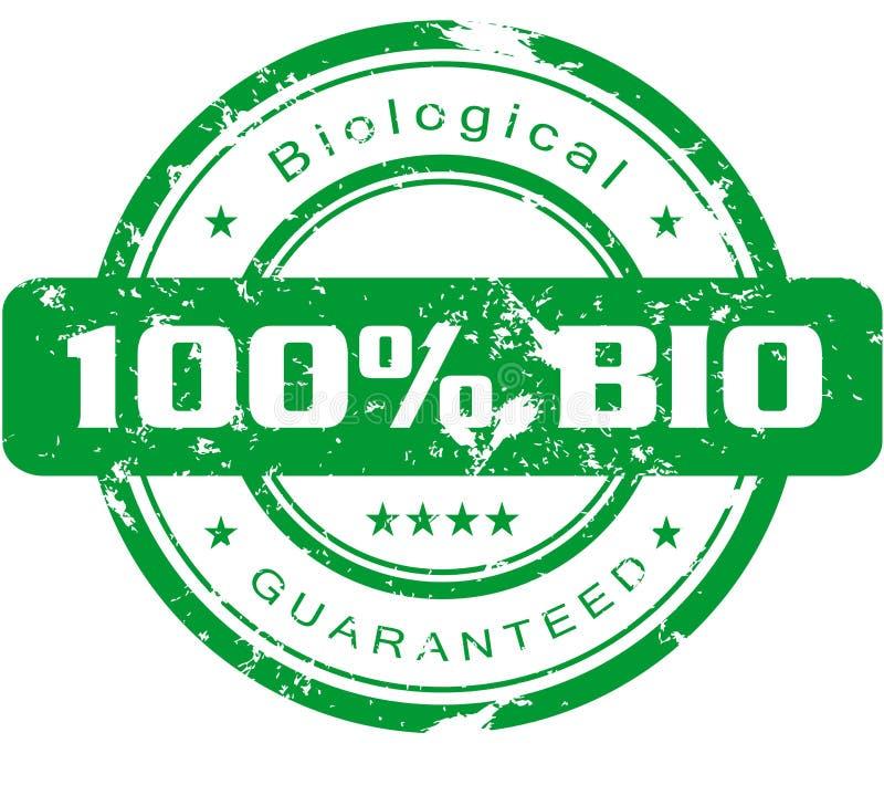 Biostempel lizenzfreie abbildung