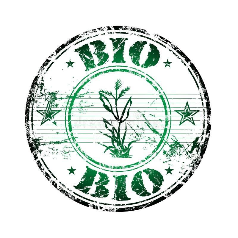 BioStempel stock abbildung