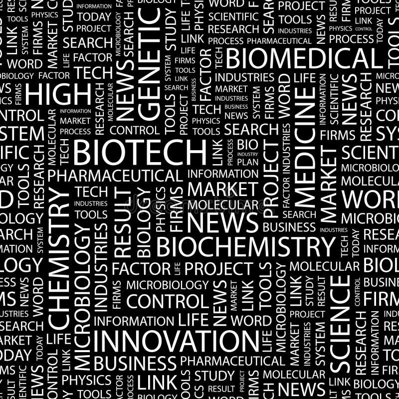 BIOTECH. illustrazione vettoriale