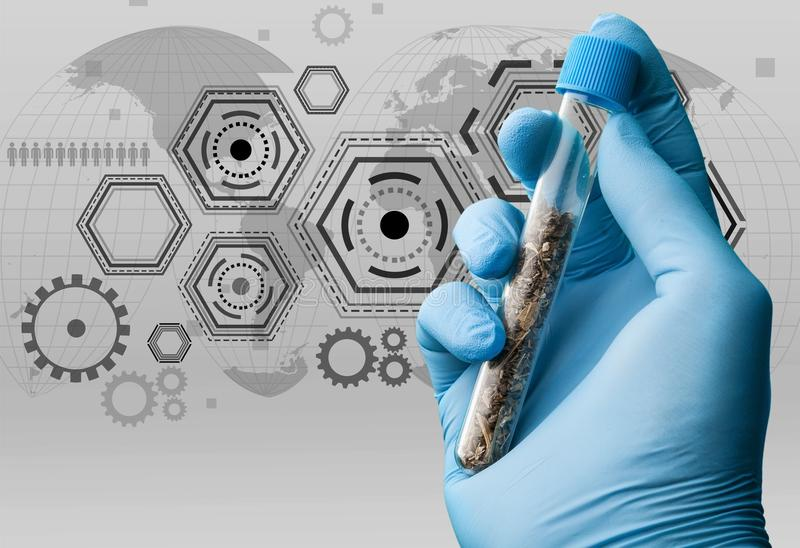 Biotech. Clinical data trial company healthcare study stock images