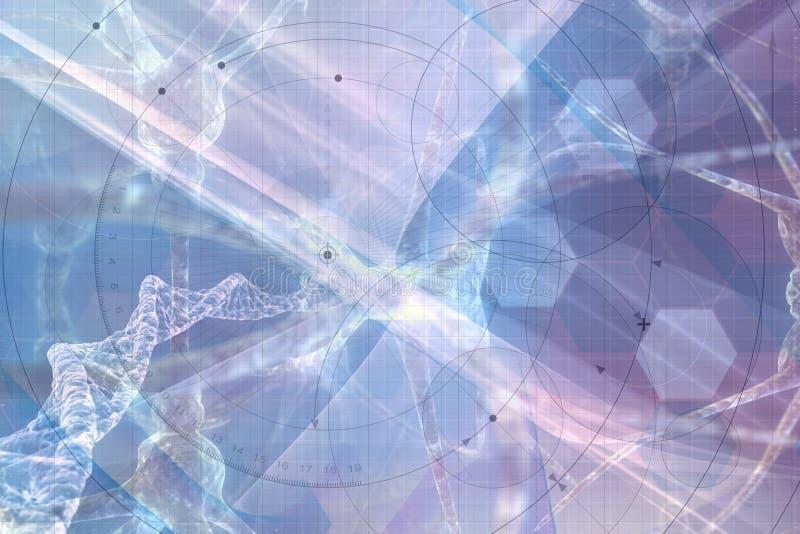 Biotechnische Samenvatting vector illustratie