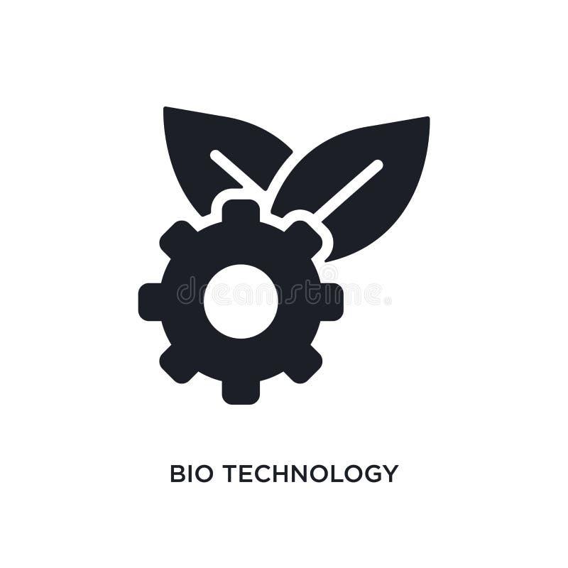 biotechnologie geïsoleerd pictogram eenvoudige elementenillustratie van algemeen-1 conceptenpictogrammen bio het tekensymbool van vector illustratie