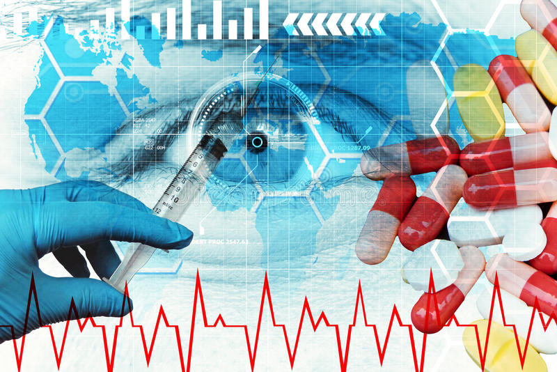 Download Biotechnology and health stock illustration. Illustration of chemistry - 73077773