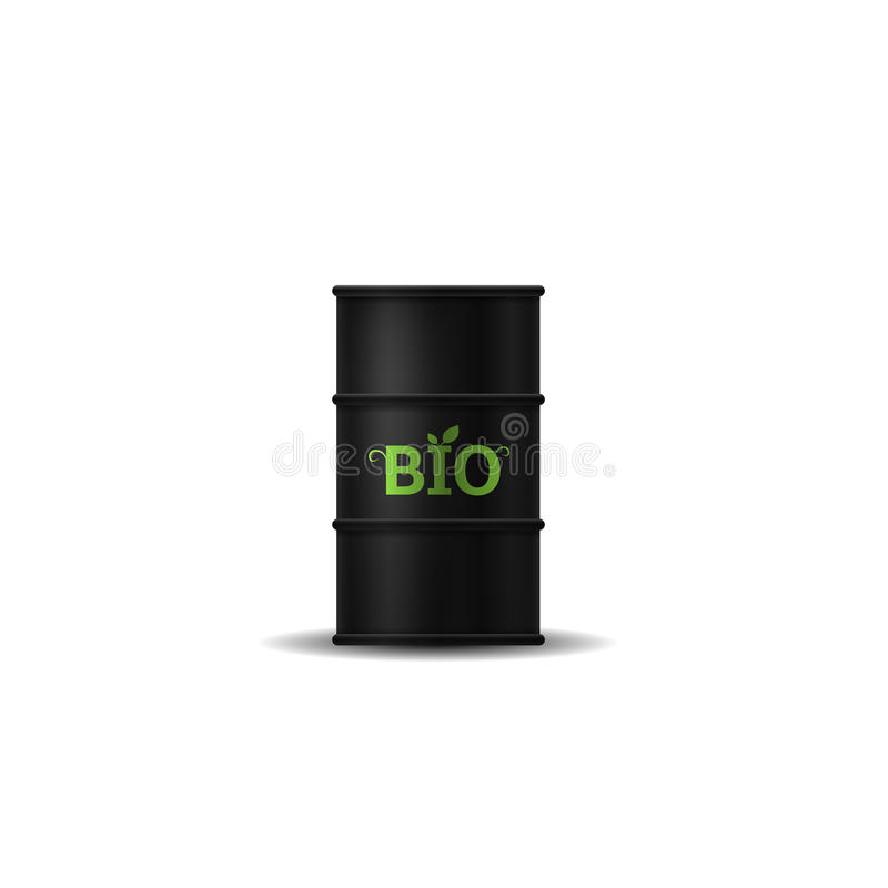 Biotreibstofffaß lizenzfreie abbildung
